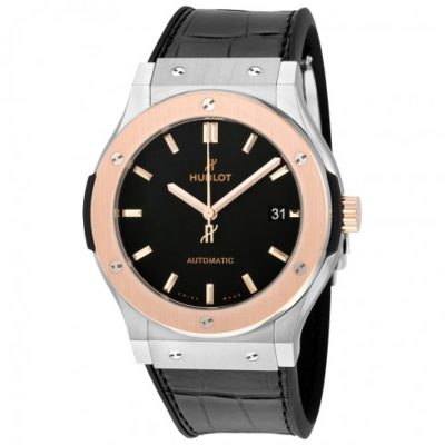 HUBLOT Classic Fusion Rose Gold Alligator Strap