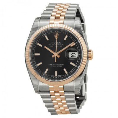 Rolex Datejust 18k Rose Gold