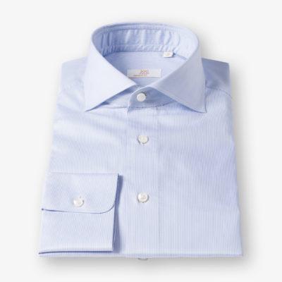 Lloyd Hall Blue & White Striped Shirt