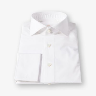 Lloyd Hall White Poplin Shirt